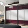Шкаф-купе со стеклянными дверьми
