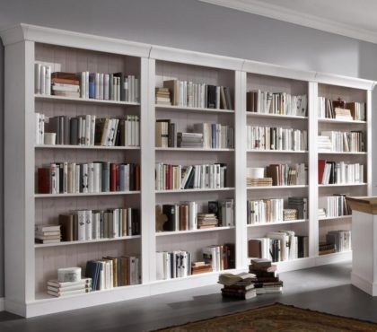 Стеллаж для книг в классическом стиле