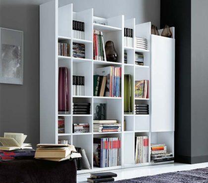 Стеллаж для книг в современном стиле