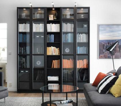 Книжный шкаф в современном стиле