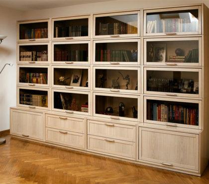 Книжные шкафы, библиотека