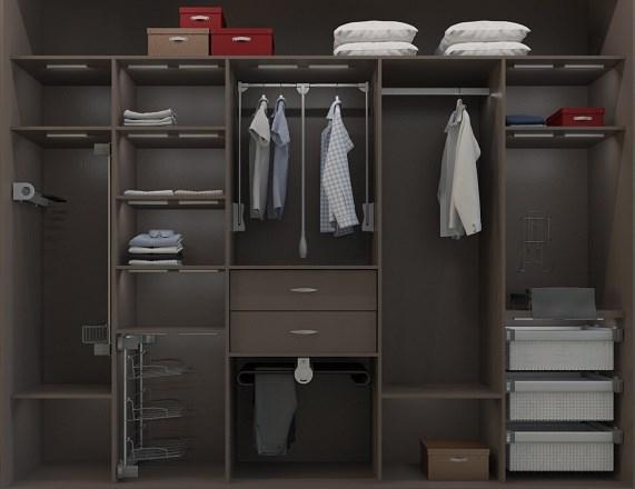 Комплектующие для шкафов